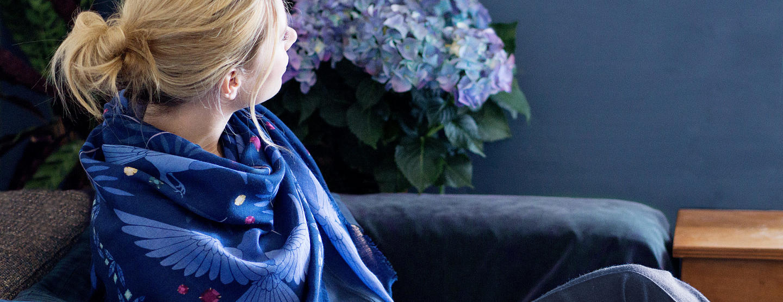 ania-axenova-paris-lechalebleu-cashmere-and-wool-shawl-treasure-hunters-indigo-night-home